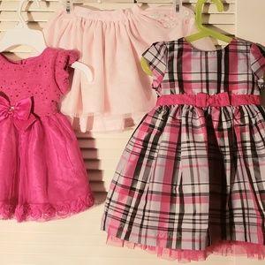 dress/skirt :24month / 2T little girls bundle lot